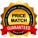 Price match seal for lowest price guarantee