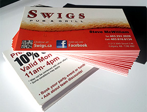 16pt High Gloss Business Cards